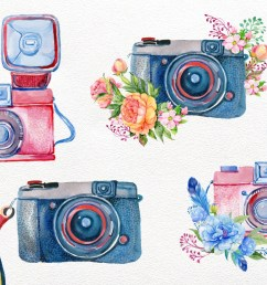 vintage camera watercolor by clipart shop thehungryjpeg com [ 1160 x 772 Pixel ]