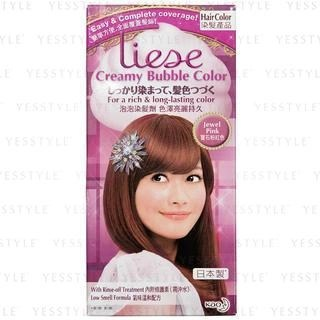 Buy Kao Liese Creamy Bubble Hair Color Jewel Pink YesStyle