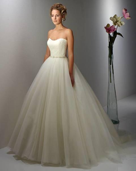 Trägerloses Brautkleid Hochzeitlove De