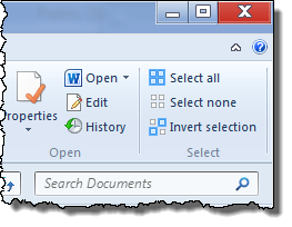 eb invert selection - Windows 7 Tip: Invert Selection
