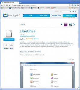 Intel supports LibreOffice, can Microsoft be pleased?