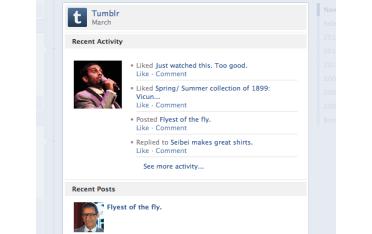 Tumblr Facebook