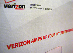 "Verizon is not doing much Internet ""amping"" now."
