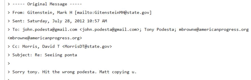 WikiLeaks: Mesaj Gitenstein-Podesta pentru întâlnire cu Ponta la referendumul pentru Băsescu. Reacția fostului ambasador SUA și a Departamentului de Stat pentru Profit.ro