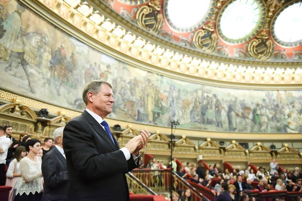 """Klaus Iohannis, despre """"Parsifal la Ateneu"""": Sunt impresionat. Toţi cei care s-au prezentat astăzi în faţa publicului au avut o performanţă notabilă - FOTO"""