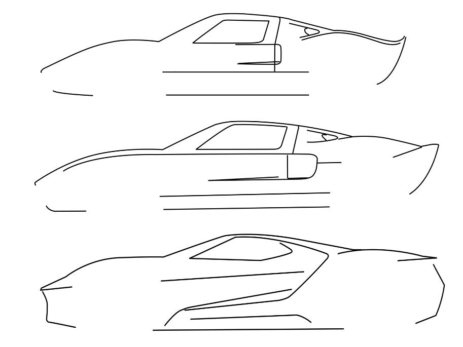 En cuanto vi el Ford GT…