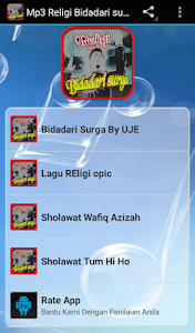 Lagu Bidadari Surga Mp3 : bidadari, surga, Download, Religi, Bidadari, Surga, DownloadAPK.net