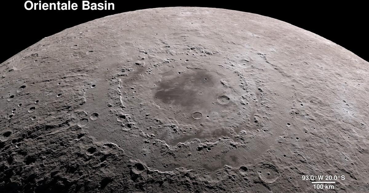 Mond In 4k Nasa Zeigt Spektakul 228 Re Bilder Gmx Ch
