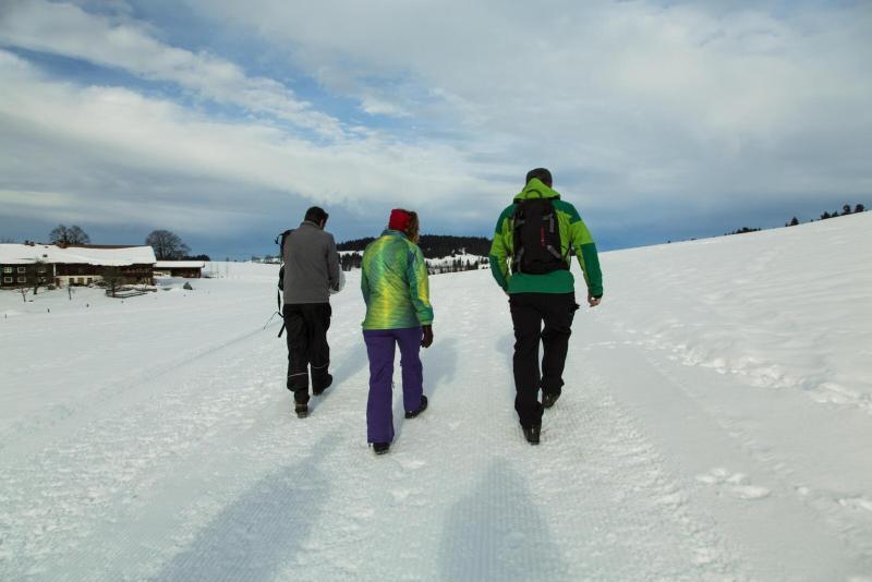 Premium-Winterwanderweg um Oberstaufen im Allgäu