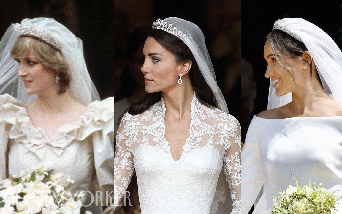 皇室婚禮:戴安娜王妃,凱特米德爾頓和梅根馬克爾_嗶哩嗶哩 (゜-゜)つロ 干杯~-bilibili