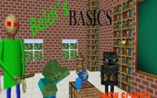 【我的世界】:如果baldi老师成为了怪物学院的老师会怎么样——我的世界动画怪物学院动画