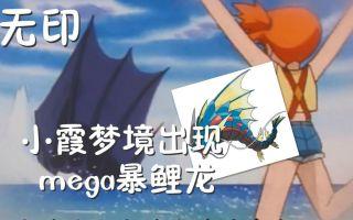 神奇宝贝:无印疑似出现mega暴鲤龙的一集 小霞梦境