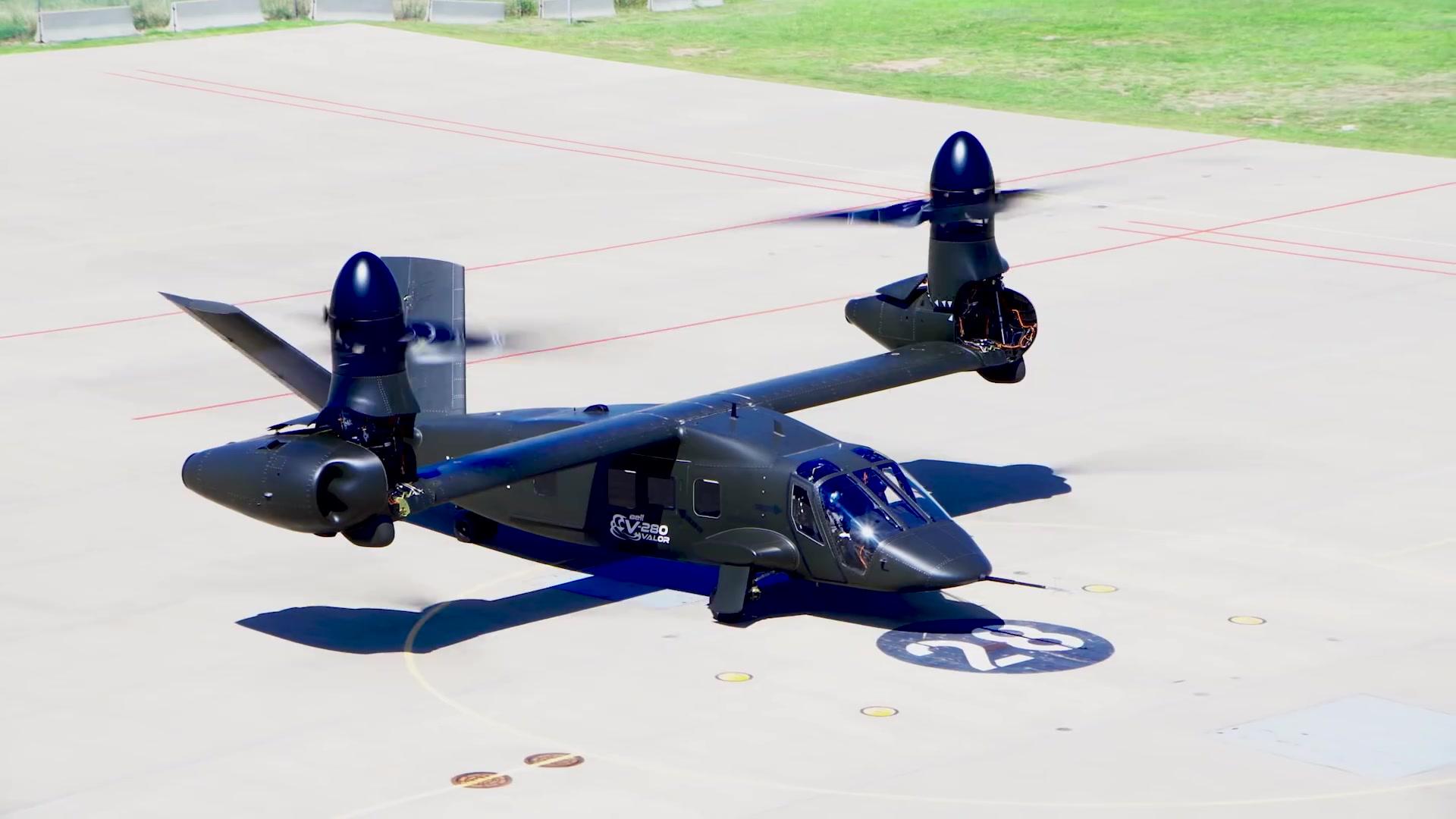 【貝爾直升機】V-280傾轉旋翼機試飛(1080p高清版本)_嗶哩嗶哩 (゜-゜)つロ 干杯~-bilibili