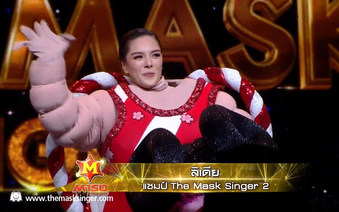 【泰國蒙面歌王2】冠軍相撲面具(Lydia)最終揭面。并演唱代表作《有空請回撥》_嗶哩嗶哩 (゜-゜)つロ 干杯~-bilibili