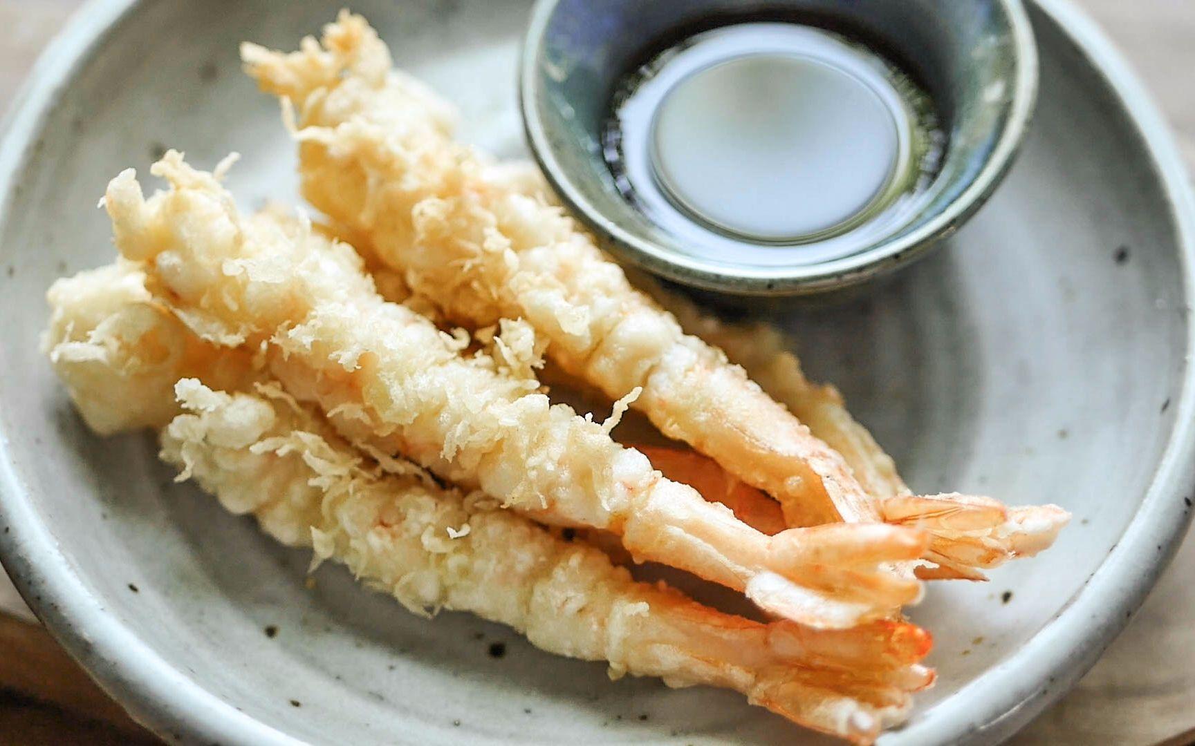 【小高姐】天婦羅面糊只要三個原料:雞蛋面粉水 輕盈酥脆的炸蝦 關鍵是面粉_嗶哩嗶哩 (゜-゜)つロ 干杯~-bilibili
