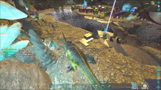 ARK PvP OFFICIAL SERVER 435 - GANG GANG MEAT RUNS YSS SCORCHED EARTH