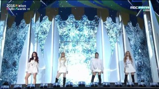 【BLACKPINK】 -WHISTLE + PLAYING WITH FIRE in 2016 MELON MUSIC AWARDS