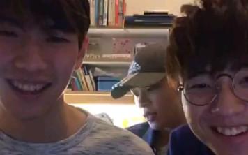 【全民造星Ⅱ】2019.11.16 B4組成員 ig live(Eagle,Justin,June)_嗶哩嗶哩 (゜-゜)つロ 干杯~-bilibili