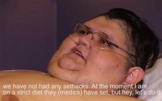 最胖男子一年减五百斤