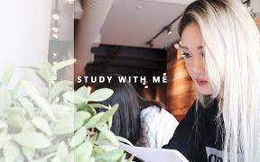 【study with me | SARANG】跟着漂亮小姐姐学习都有劲|没有假期的11月我也会元气满满地度过