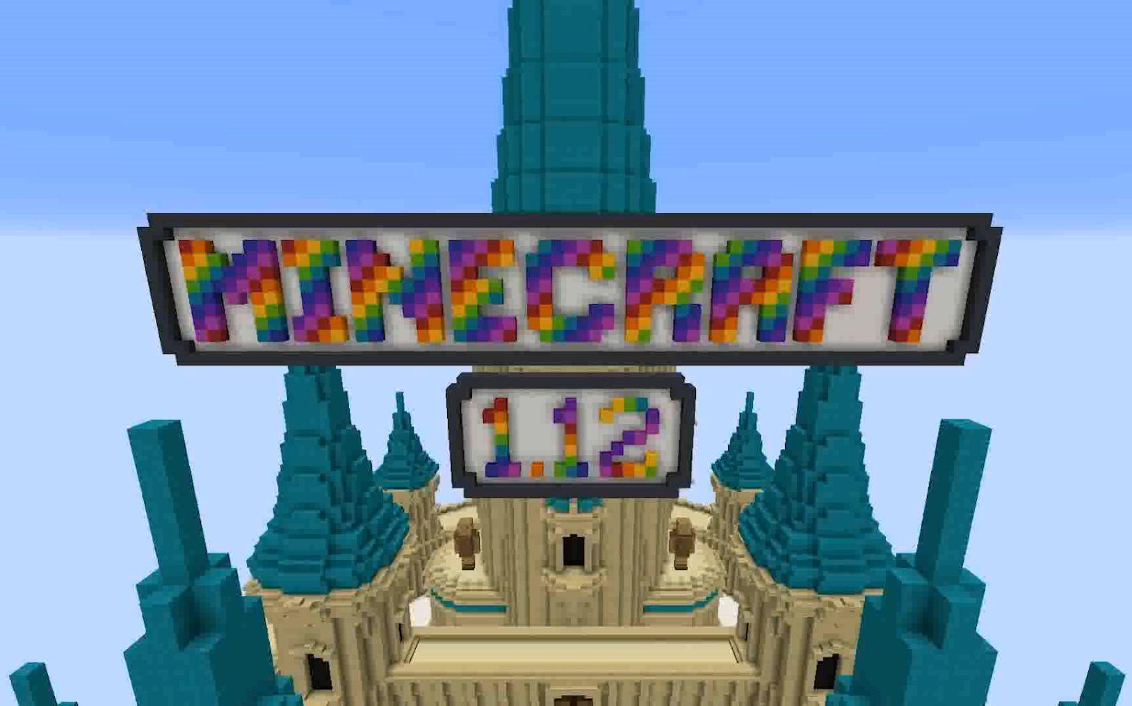 【版本更新】Minecraft 1.12《彩色世界》&玩家精彩作品_嗶哩嗶哩 (゜-゜)つロ 干杯~-bilibili