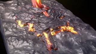houdini 岩浆lava熔岩材质 hip源文件分享