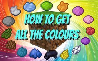 [字幕]如何获得所有颜色的染料[Java&基岩版]-MC教程