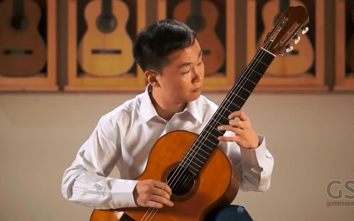 【古典吉他】Way Lee精彩演奏 帕格尼尼 隨想曲24號_嗶哩嗶哩 (゜-゜)つロ 干杯~-bilibili