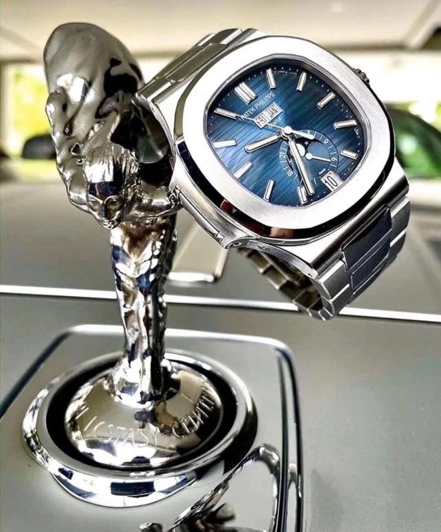 实用又耐看的钢表之王:百达翡丽鹦鹉螺5726月相腕表-小柚妹站