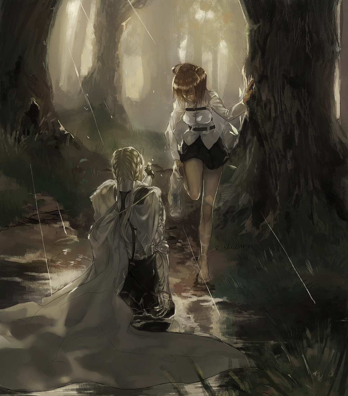 """了解一下貝狄威爾""""最初圓桌騎士的成員之一。最后為王送終的人"""" - 嗶哩嗶哩"""