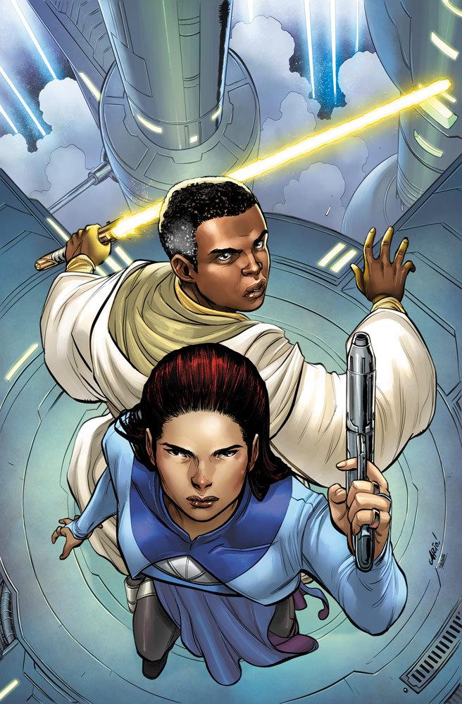 《星球大战:共和国巅峰》推理探案漫画与新小说变体封面公布-小柚妹站