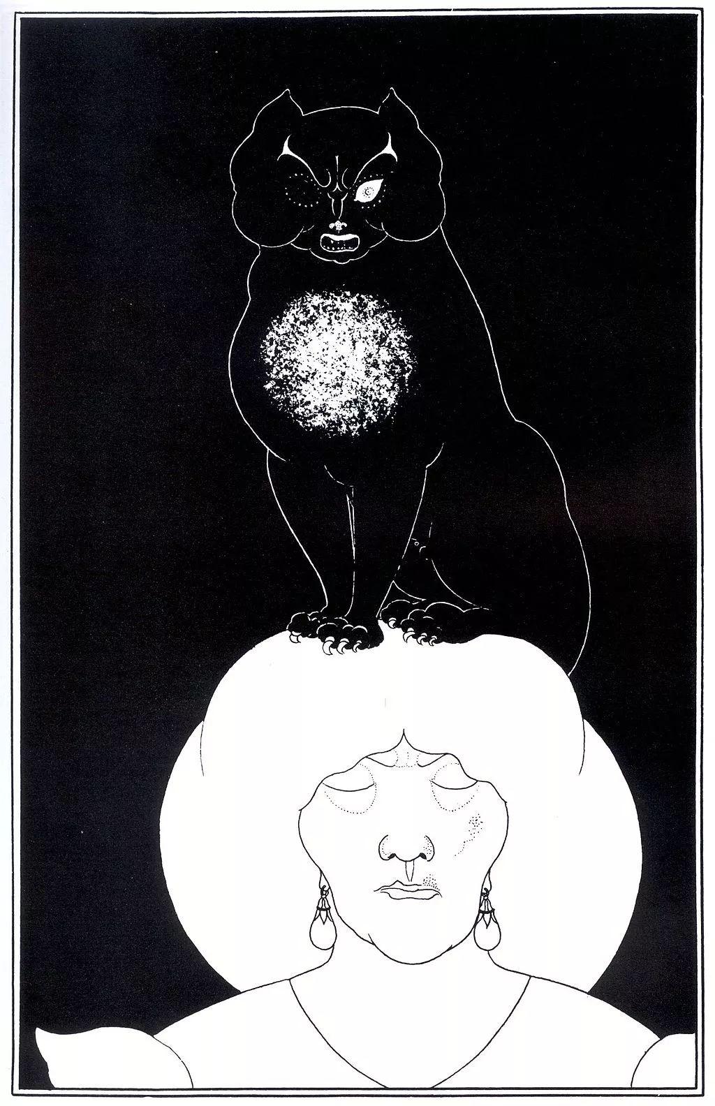 [英國插畫家]奧布里·文森特·比爾茲利 - 嗶哩嗶哩