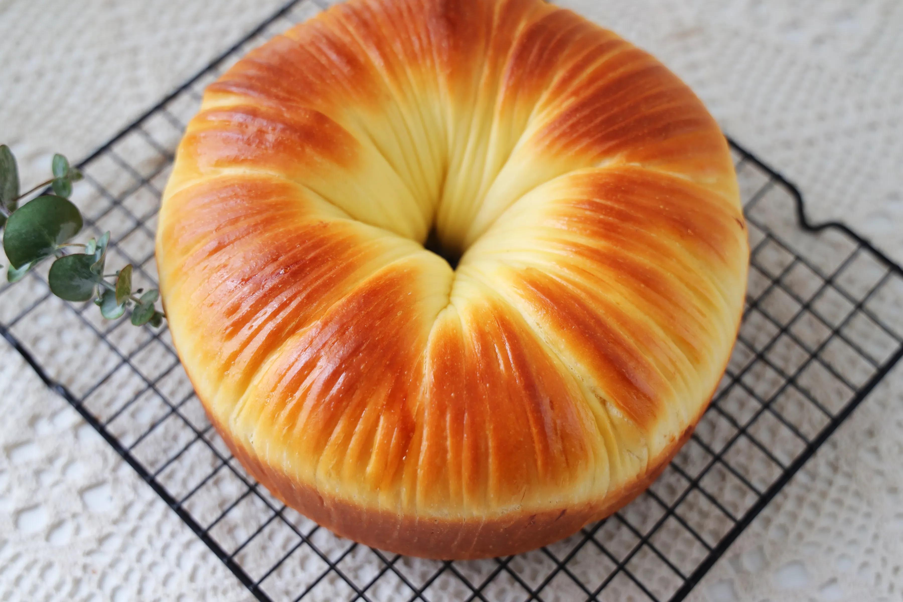 教你做最近很火的毛线面包,松软拉丝,孩子吃了一次还想吃-小柚妹站