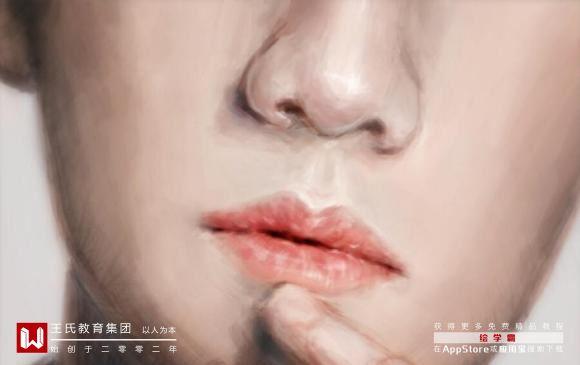 动漫人物正面鼻子画法-小柚妹站