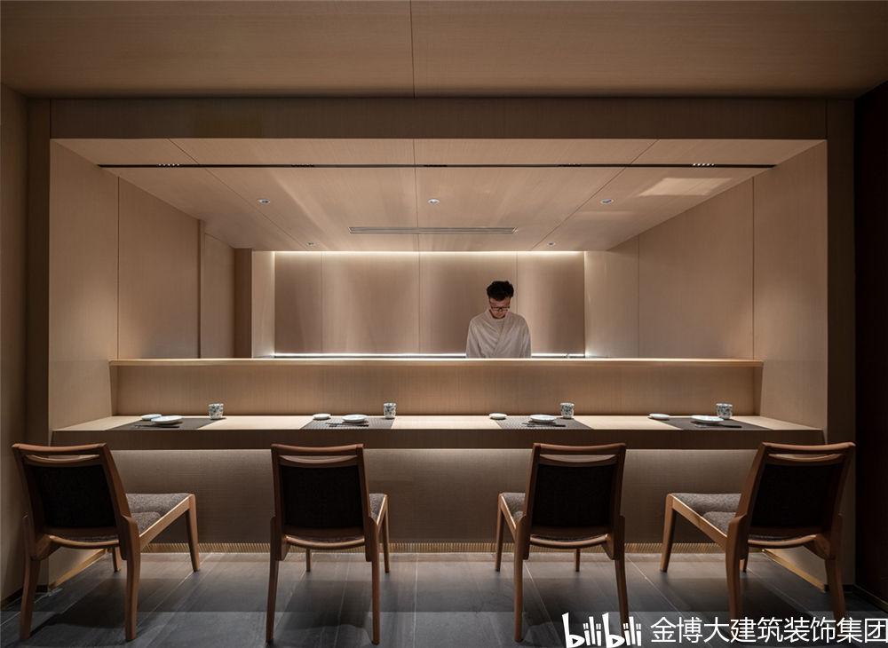 郑州隐竹日式料理餐厅设计公司装修案例-小柚妹站