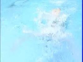 萩原智子教游泳-蝶式