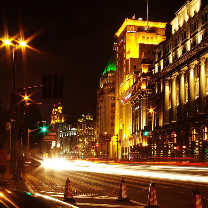 1080p Iphone 7 Plus Wallpaper 免费图片 上海 街景 夜景 Hippopx