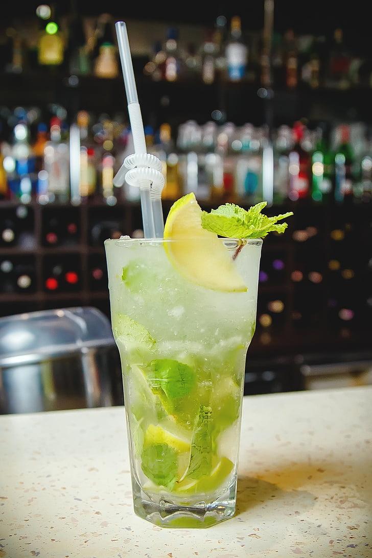 免費圖片: 雞尾酒, 莫吉托, 夏季, 酒吧, 飲料, 含酒精的雞尾酒, 感冒   Hippopx