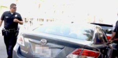 BLACK GUY BREAKS INTO CAR