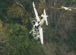 A small plane and helicopter collided during flight near Frederick, Maryland.