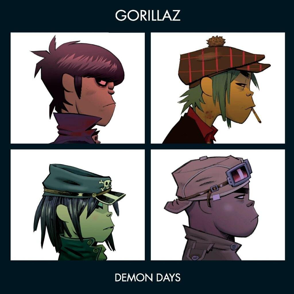 Image result for gorillaz demon days