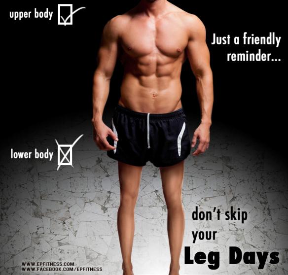 Image result for don't forget leg day meme