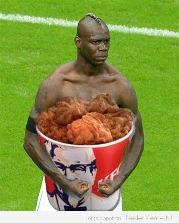 Chicken Bucket Black Man