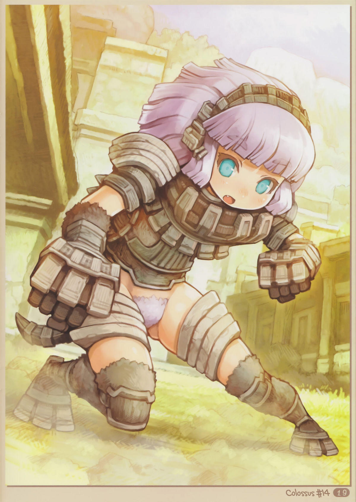 Moe Anime Girl Wallpaper Colossal Girl 14 Rule 34 Know Your Meme