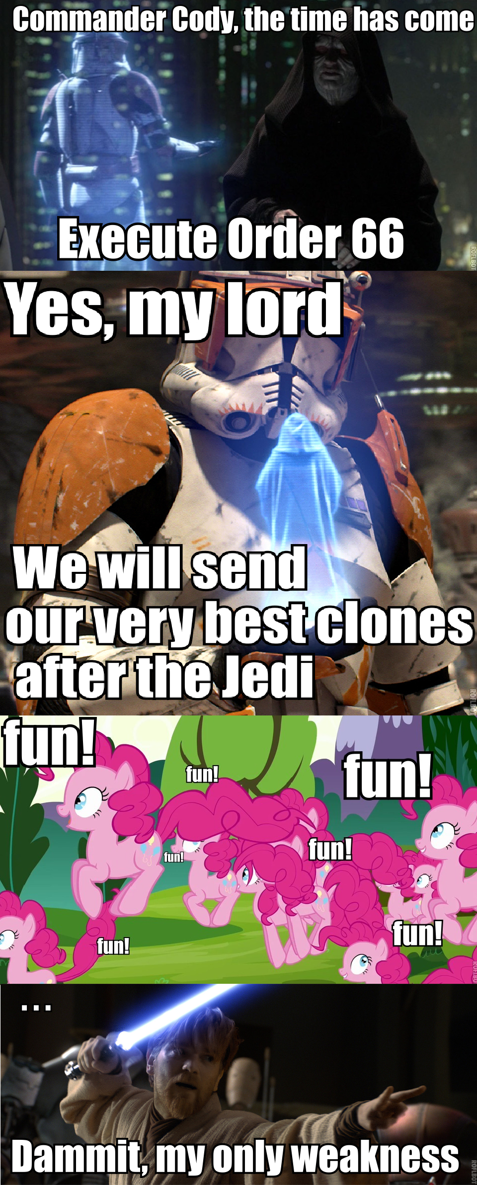 Order 66 My Little Pony Friendship Is Magic Know Your