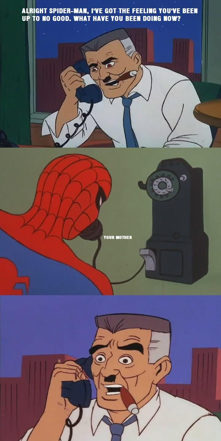 Spidey's Been There Done That '60s Spider Man Know