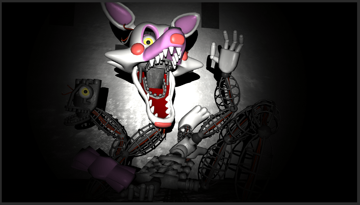 Five Nights At Freddys Wallpaper Cute Gmod Mangle Is Ready Five Nights At Freddy S Know