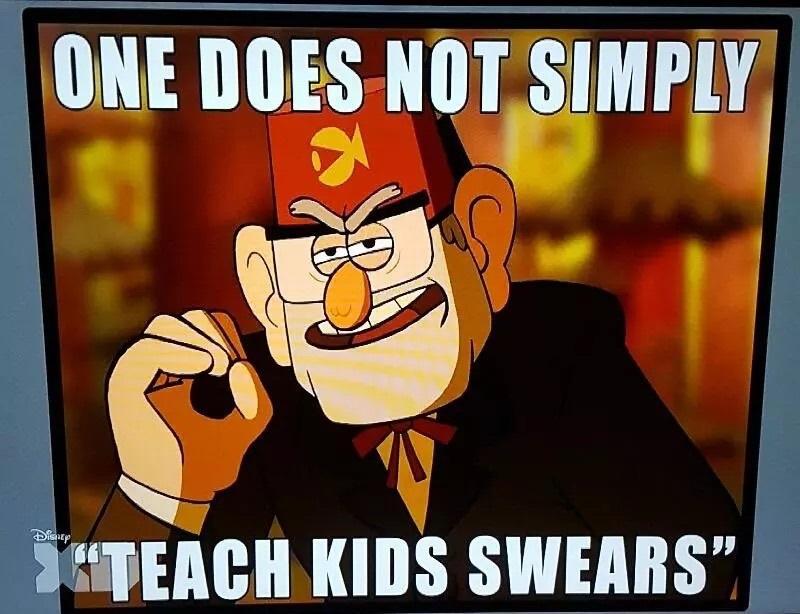Stan Gravity Falls Meme