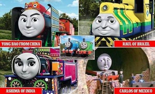 Thomas Diverse Friends Thomas The Tank Engine Know