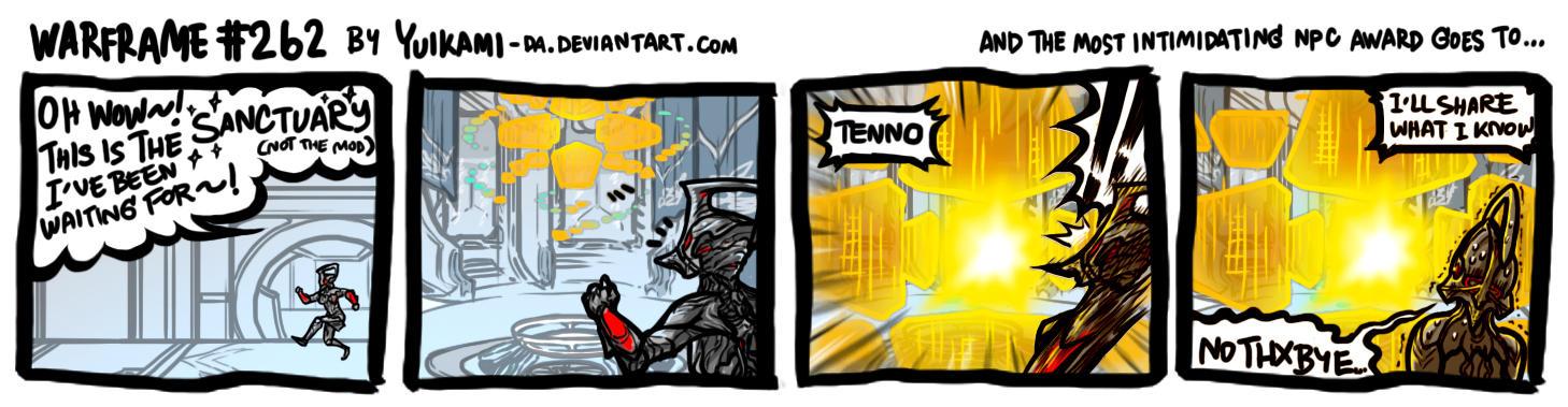 HELLO TENNO PLEASE CONTRIBUTE TO THE SANCTUARY Warframe